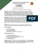 Sample Interview Prep Guide for Senior Leader