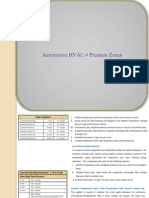 Automotive HVAC # Pressure Zones