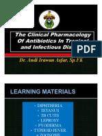 1.Pharmacology Ab for Tropic Infection, Reguler, Fk Unhas-dr.andi Irawan