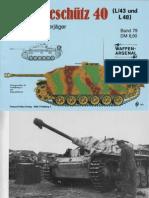 Waffen Arsenal - Band 079 - Sturmgeschütz 40 L/43 und L/48