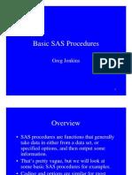 SAS Basic Procs