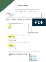 Prueba Geometria 5to Transf Isomet y Plano Cartesiano