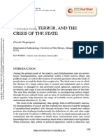Violence, Terror and the Crisis of the State