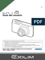 Manual Casio-Exillim EXH5 Es
