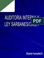 Auditoria Interna y Ley Sarbanes