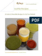 25 Free Juice Smoothie Recipes