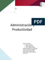 Informe Administracion y Pro TERMINADO