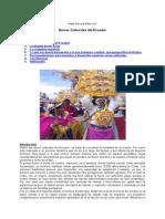 Raices Culturales Ecuador