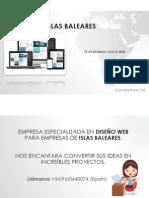 Diseño Web Islas Baleares