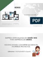 Diseño Web Orense