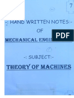 ME 7.Theory of Mechanics
