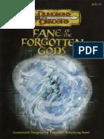 VII - Fane of the Forgotten Gods