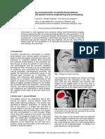 Prosthetic Reconstruction of Maxillo-facial Defects