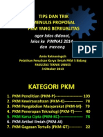 Strategi Lolos Review Proposal