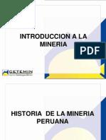 Introduccion a La Mineria