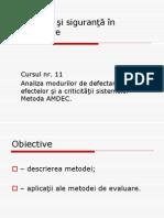 5 Risc Tehnic Tehnologic Metoda AMDEC