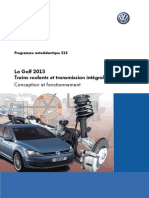 SSP 515 (La Golf 2013 - Trains Roulants Et Transmission Integrale)