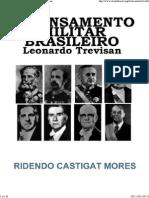 Leonardo Trevisan_Pensamento Militar