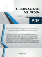El Sacramento Del Orden