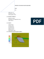 Kitesurf Sail Design Comparison by Cfd Analysis Ran in Solidworks