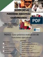Evaluacion Neuropsicologica de Las Funciones Ejecutivas
