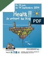 exposition «Heula!! ils entrent au Scriptorial» - dossier de presse