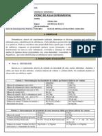 Relatorio Identificação de Substâncias