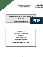 E982 Ensayo De Torsión.doc