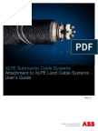 Xlpe Submarine Cable Systems