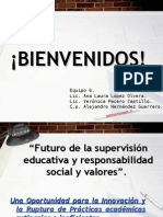 Futuro de La Supervision Educativa