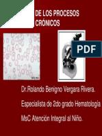 Anemia de Los Procesos Cronicos
