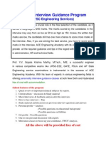 IES Interview Guidelines 2013