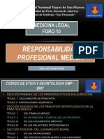 Responsabilidad MedicoLegal