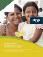 Avaliacao de Impacto Do Programa Bolsa Familia 1