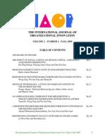 Microsoft Word - Final Issue Vol 2 Num 2 Fall 2009