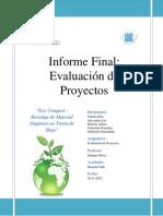 Informe Final Evaluacion de Proyectos