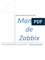 Manuel de Zabbix