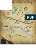 Lagan Gulch Map Legends of the Old West