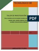 Taller de Investigacion Ecoturismo