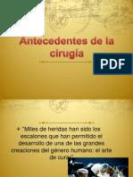 Historia de Cirugía