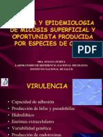 Clinica y Epidemiologia de Especies de Cándida