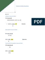 Calculo de Indices Hematicos