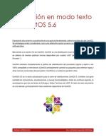 Instalación en Modo Texto de CentOS 5.6