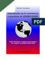 Introdução Ao E-Commerce e Questão de Usabilidade