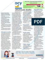 Pharmacy Daily for Mon 16 Jun 2014 - Methotrexate deaths, Pharmacotherapy sites up, NZ Pharmacy of the Year, Call for COAG to stay and much more