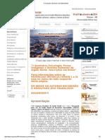 Folder IV Congresso Brasileiro Saúde Mental