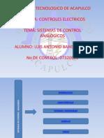 Sistemas de Control Analogico