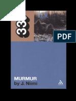 "r.e.m's murmur (33â…"" series).pdf"