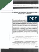 Tributação Do Rendimento Real e a LGT_artigo Prof. Xavier de Basto