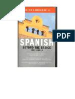Spanish - Beyond the Basics - Course Book